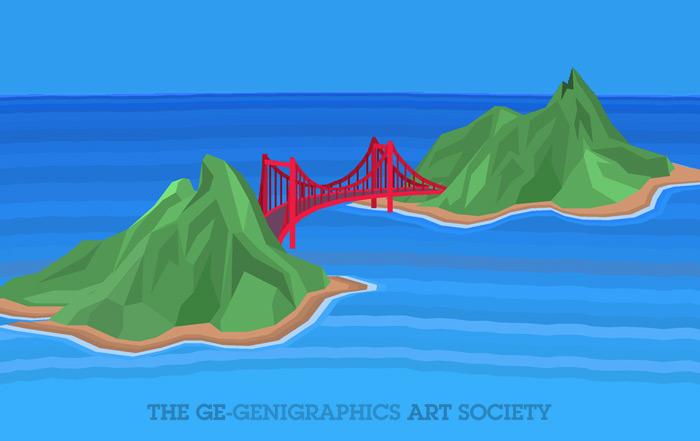 Jembatan antara 2 pulau